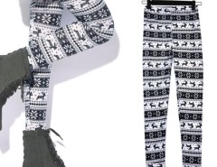 Women's Lady Snowflakes Leggings Tights Pants Cndirect online fashion store China