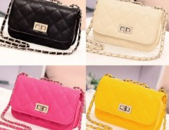 Women's Leather Cute Mini Cross Body Chain Shoulder Bag Handbag Purse Cndirect online fashion store China