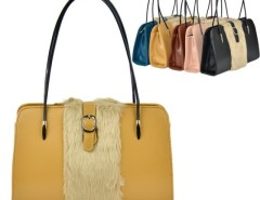 Women's Leather Fur Shoulder Bag Handbag Cndirect online fashion store China