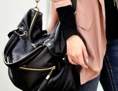 Women's Leisure Tassel Shoulder Bag Large Capacity Handbag Cndirect online fashion store China