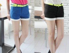 Women's Slim Shorts Casual Trouser Hot Pants Cndirect online fashion store China