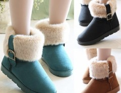 Women's Snow Boots Ankle Boots Warm Shoes Cndirect online fashion store China