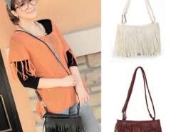 Women's Tassel Shoulder Bag Cross Handbag 2015 Fashion Lady Women New Arrival Cndirect online fashion store China