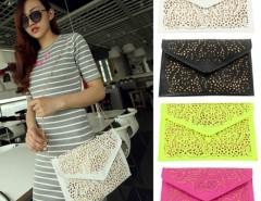 Women's Vintage Hollow Out Envelope Clutch Shoulder Cross Bag Cndirect online fashion store China