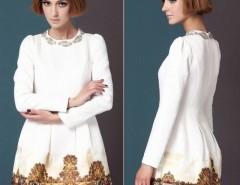 Womens European Fashion Luxury Horse Paint Palace Bead Long Sleeve Slim Dress Cndirect online fashion store China