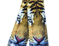 Yellow 3D Fierce Tiger Print Ankle Socks Choies.com online fashion store United Kingdom Europe