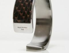 bracelet - Dana - Shiny brown python 2 Carnet de Mode online fashion store Europe France
