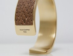 bracelet - Dana - matt Brown python 2 Carnet de Mode online fashion store Europe France