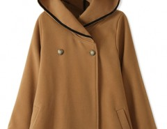 Essential Fashion Hooded Woolen Cape OASAP online fashion store China
