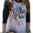 Fashion Graphic Color Block Tee OASAP online fashion store China