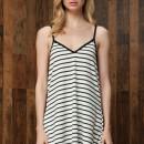 Gorgeous Striped Backless Mini Dress OASAP online fashion store China