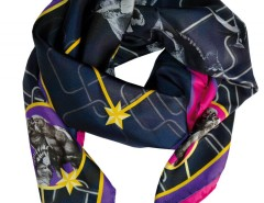 silk scarf - birdy Carnet de Mode online fashion store Europe France